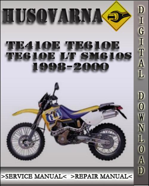 2008 husqvarna sm te 610 service manual