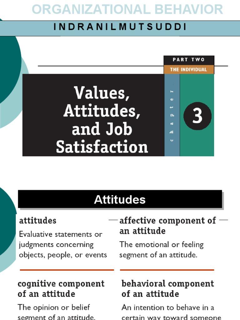 attitude in psychology pdf