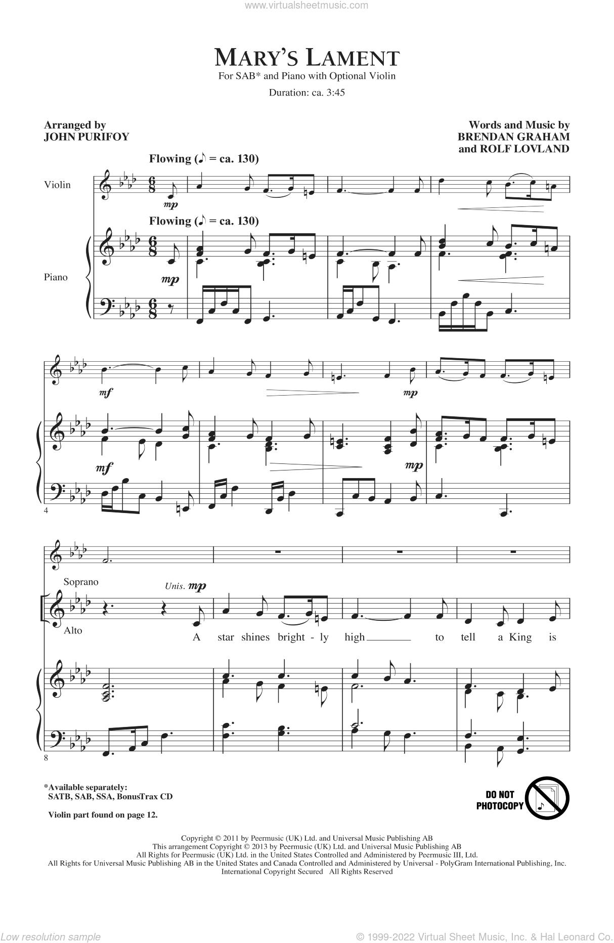 a lamenting song sheet music pdf