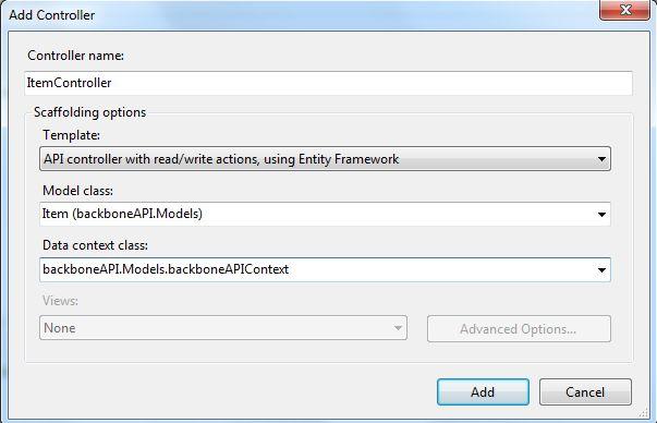 backbone js application
