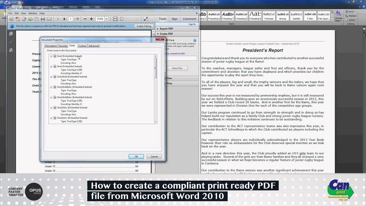 adobe pdf to microsoft wolrd