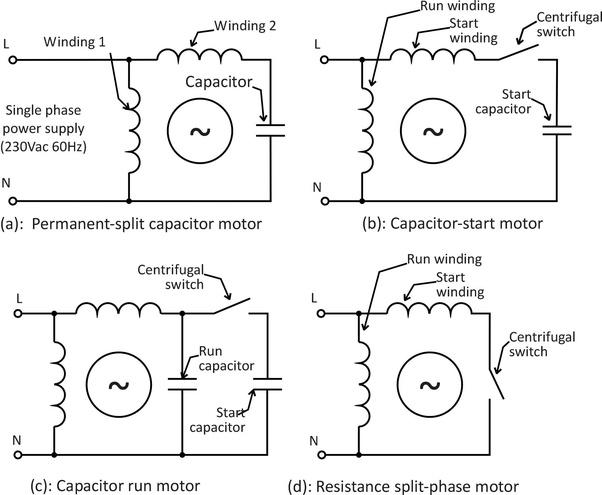 Capacitor Start Capacitor Run Induction Motor Pdf