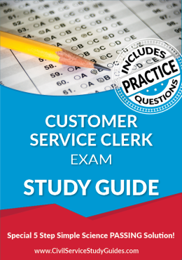customer service study guide