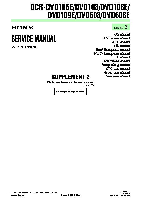 dcr-dvd608e manual