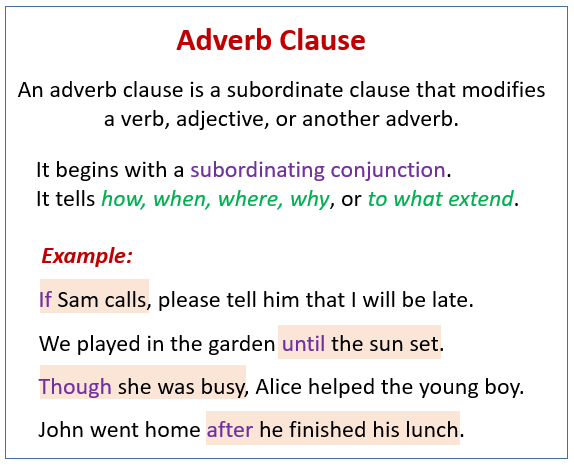 adverb examples in sentences pdf