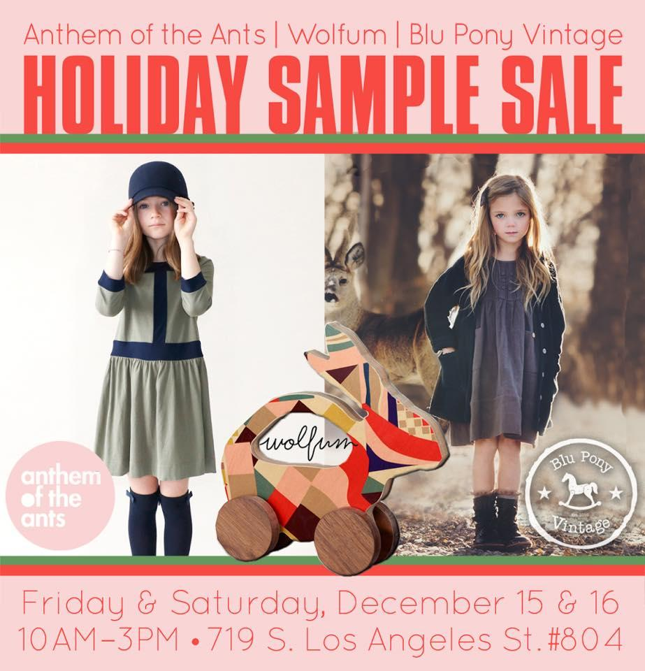anthom sample sale