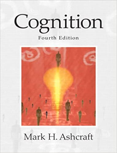 cognitive psychology 5th edition pdf