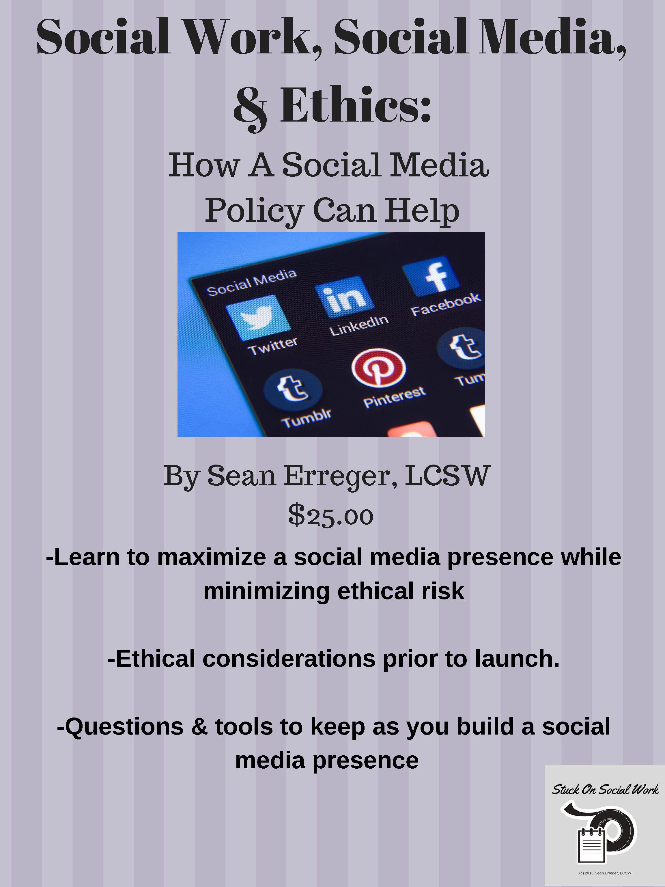 code of ethics pdf social work