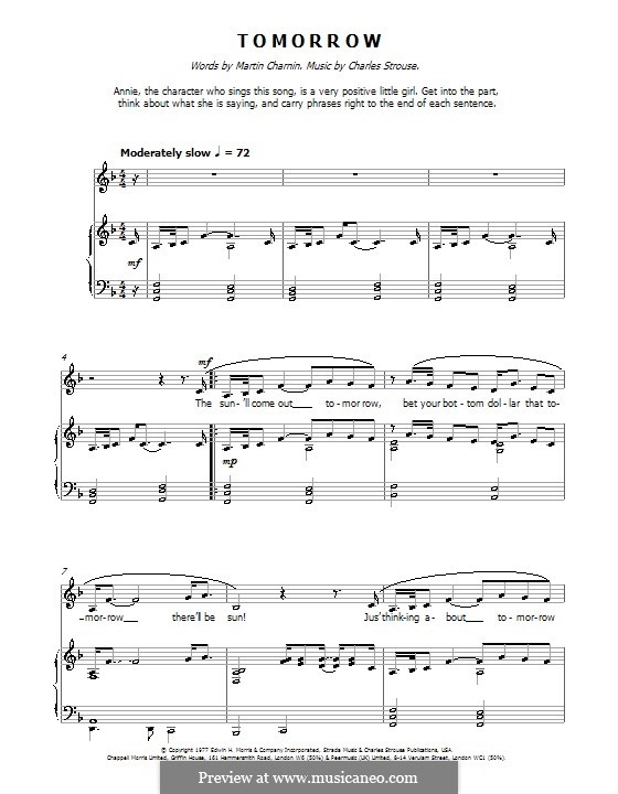 annie piano score pdf