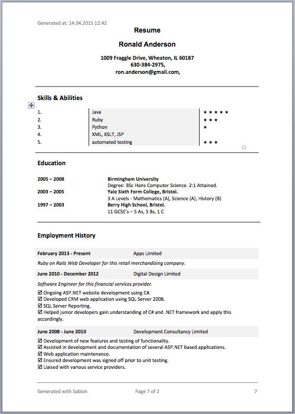 as built documentation template