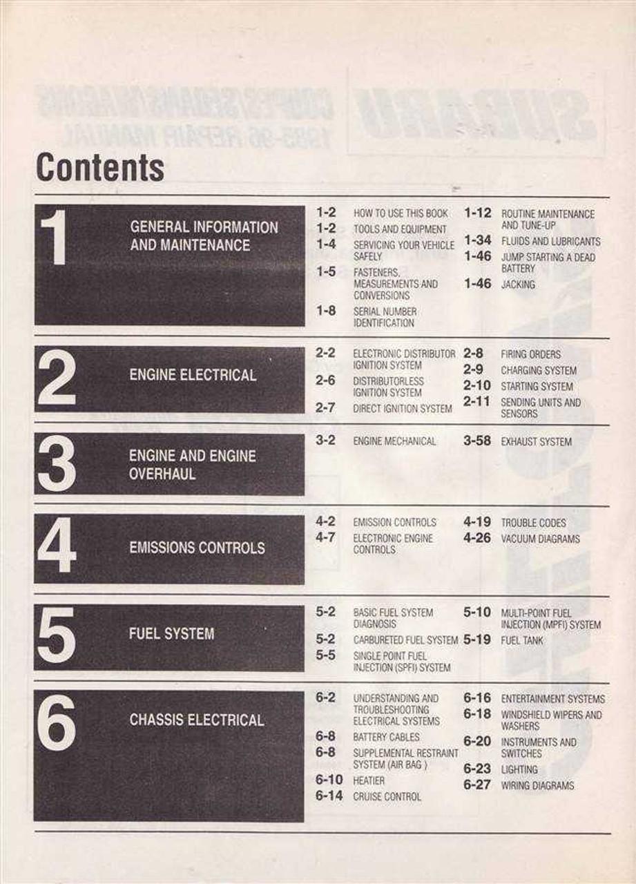 1996 impreza wrd service manual