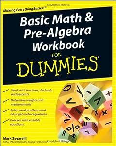 basic math and pre algebra for dummies pdf