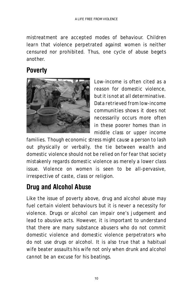 causes of domestic violence pdf