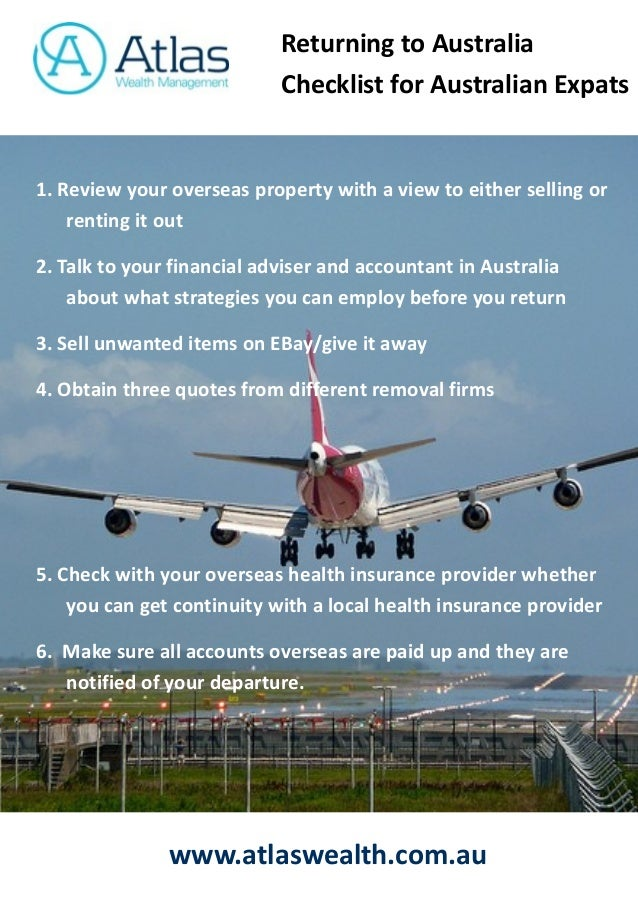 a guide for expats returning to australia