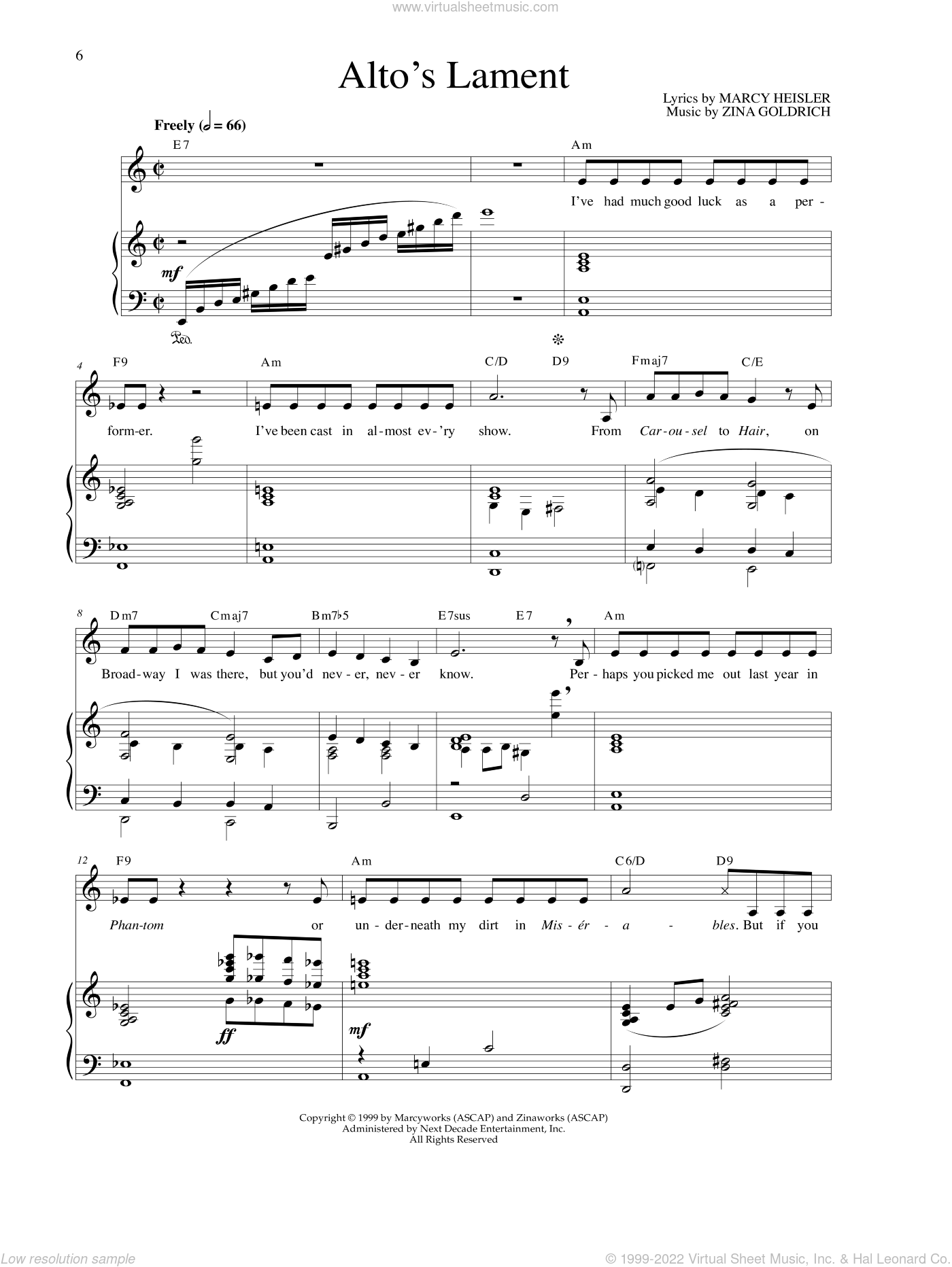 a lamenting song sheet music pdf
