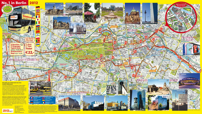 berlin tourist attractions map pdf
