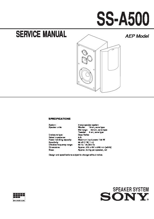 a500 manual