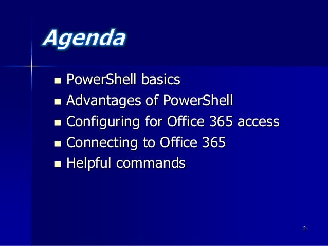 advantages of windows powershell managing active directory pdf