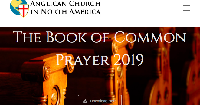 anglican prayer book pdf