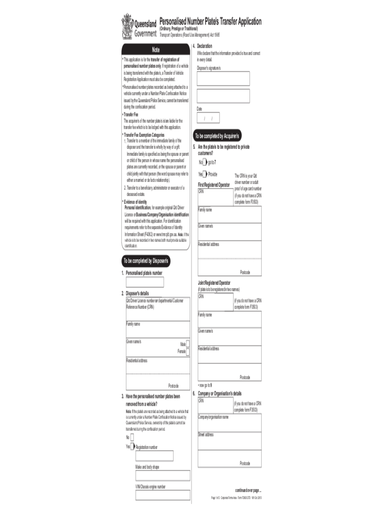 application form tax file number brisbane
