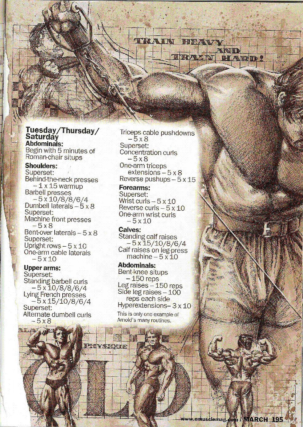 arnold schwarzenegger training program pdf