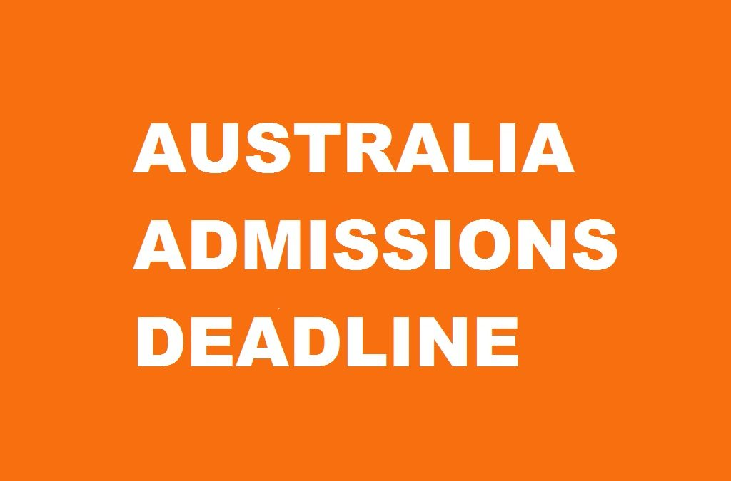 aus application deadline