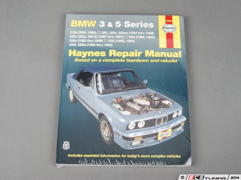 bmw 5 series repair manual
