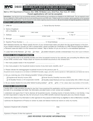 drie renewal application 2017
