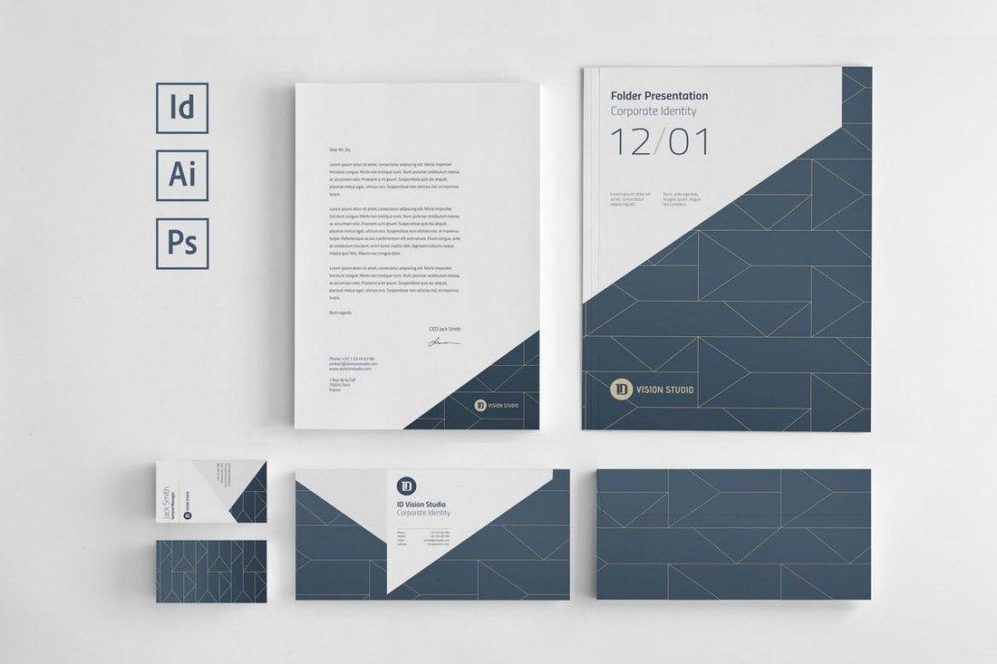 corporate identity design pdf