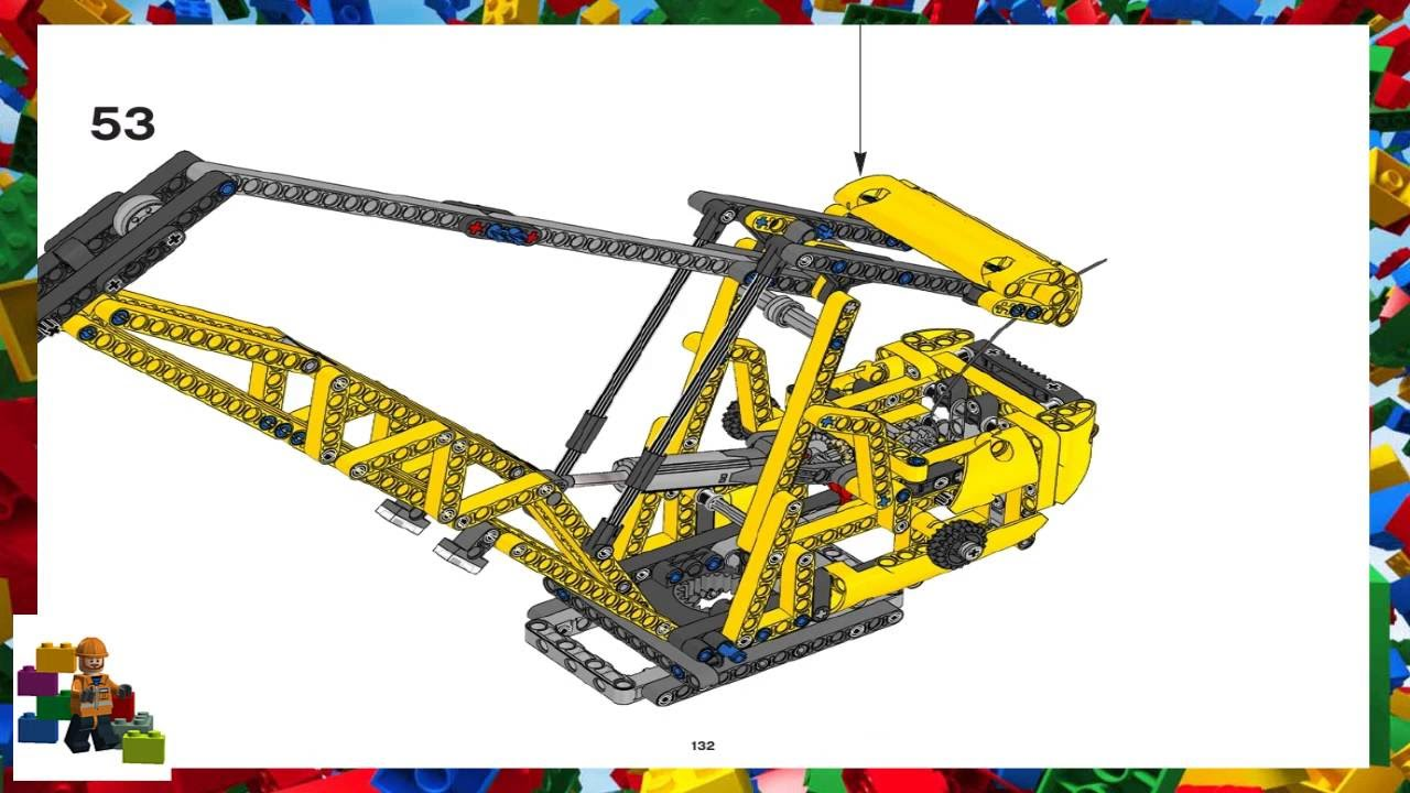 crane lego instructions