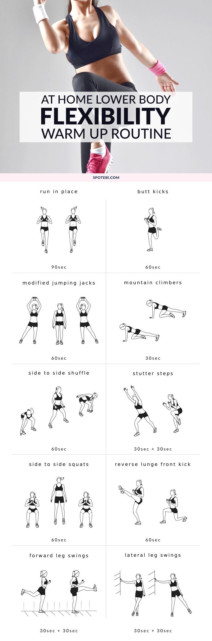 dynamic warm up exercises pdf