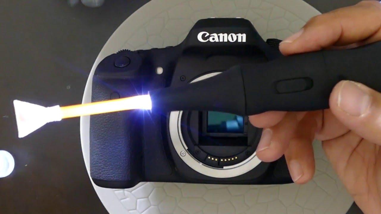 canon 80d manual sensor cleaning