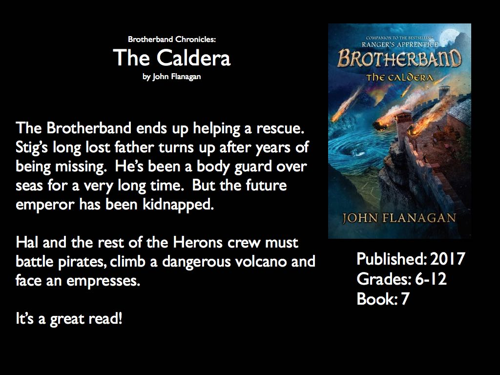 brotherband chronicles the caldera pdf