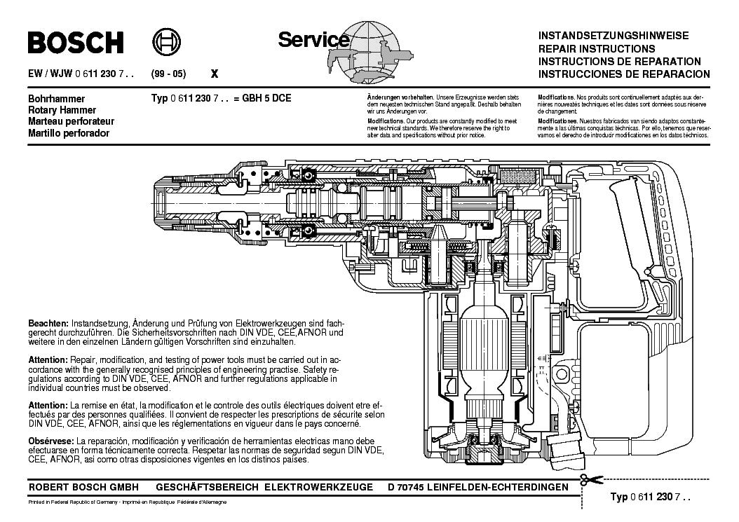 bosch gbh 7-45de manual