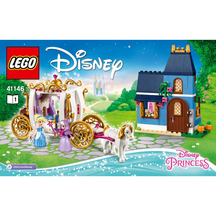 cinderella lego set instructions